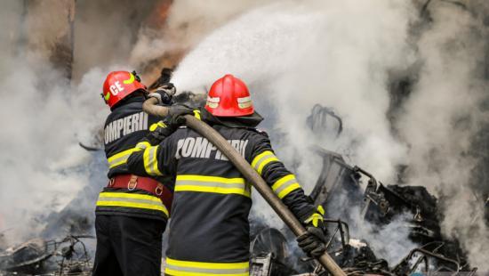 Tűz Zilahon, RO-alert üzenetek érkeztek