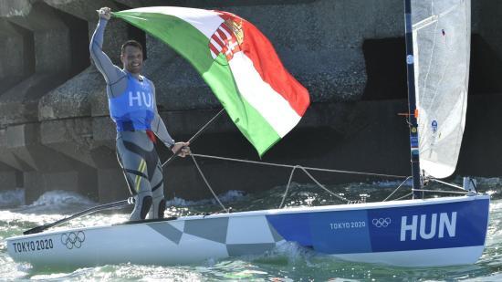 Berecz Zsombor olimpiai ezüstérmes vitorlázásban