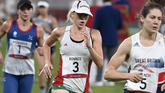 Nagyszerű versenyzéssel olimpiai bronzérmes az öttusázó Kovács Sarolta