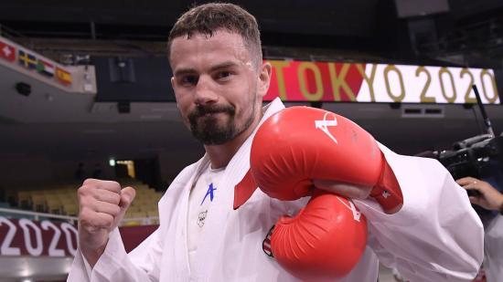 A karatés Hárspataki Gábor olimpiai bronzérmes