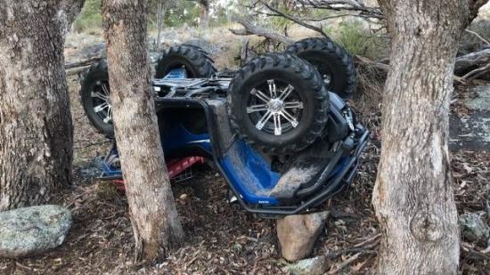 Kvaddal szenvedett balesetet, meghalt