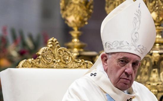 Töltényeket tartalmazó borítékot találtak – a pápának szánták