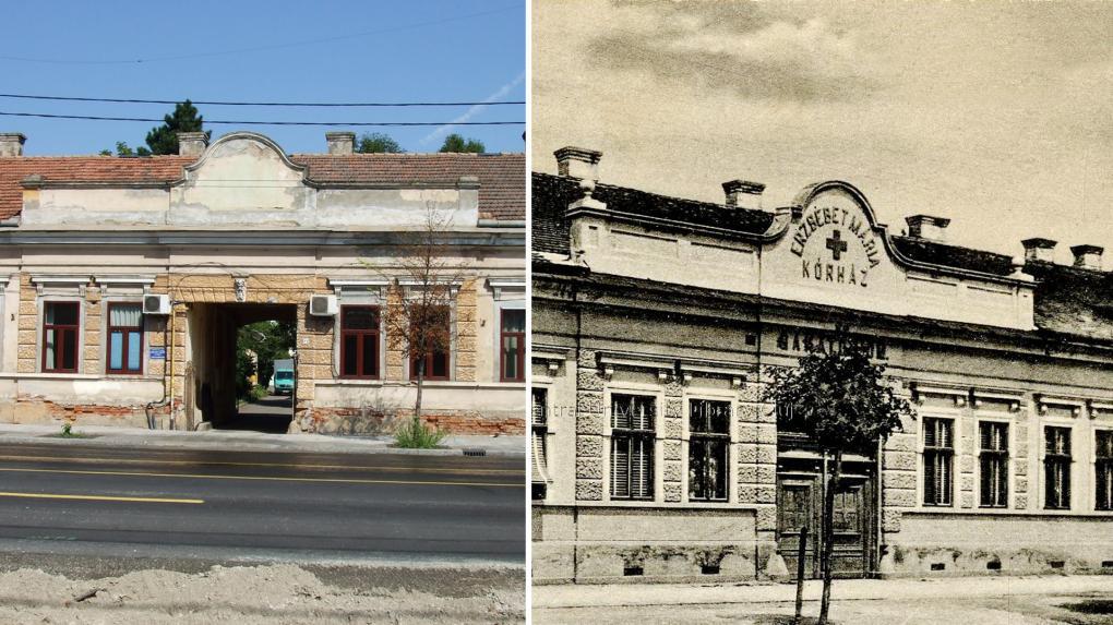 A kórház egykor és ma – az épület műemléknek is beillenék
