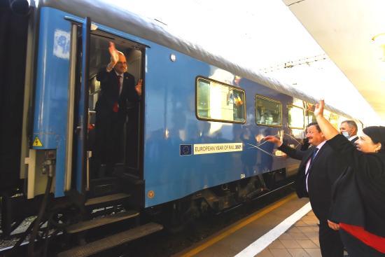 Kolozsváron állomásozott a Connecting Europe Express