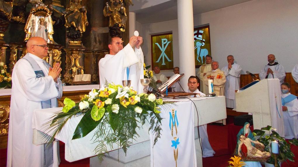 László Zsolt újmisés volt az ünnep főcelebránsa
