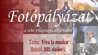 Ismét meghirdeti Viva la musica nevű fotópályázatát a magyar opera