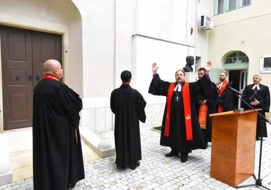 Újraszentelték a felújított evangélikus templomot