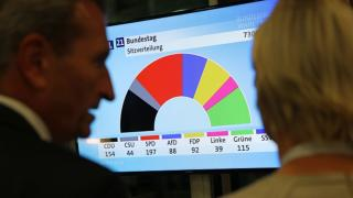 A szociáldemokraták győztek a parlamenti választáson Németországban