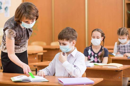 Az iskolákban ellenőrzik az egészségvédelmi szabályok betartását