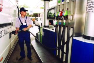 Meghaladta a 7 lejt a prémium benzin ára
