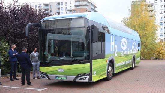 Hidrogénbuszt tesztelnek Kolozsváron is